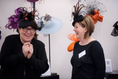 Marie Halewood and Jenny Roberts of Jenny Roberts Millinery