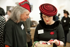 Millinery inspiration Sharon Bainbridge and Lyndsay Cooper of Pyewacket Millinery