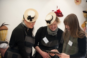 MIllinery Magpies and Ellie of Hats by Ellie Langley